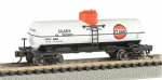 Bachmann 17857 N Scale ACF 36ft.6in. 10,000 Gal Single-Dome Tank Clark